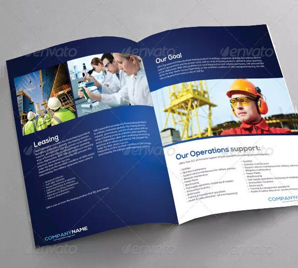PSD Industrial Brochure Design