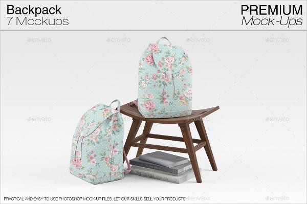 Printable Backpack Mock-Ups