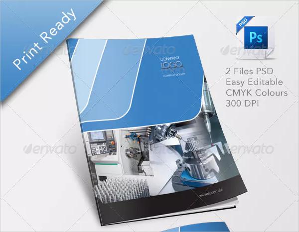 Printable Industrial Brochure Design