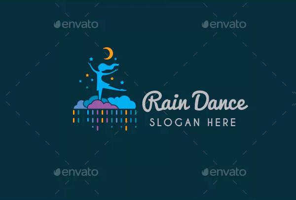 Rain Dance Logo Template