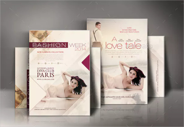 Romance Movie Poster Or Fashion Poster Design