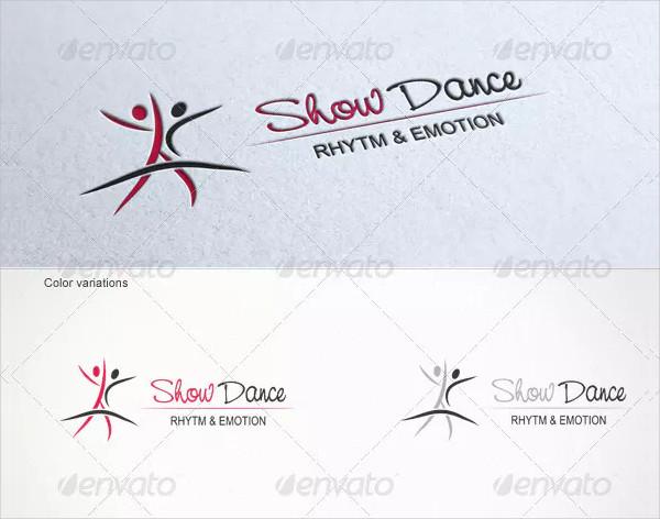 Show Dance Logo Template