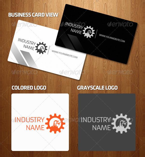 Simple Industrial Logo Design