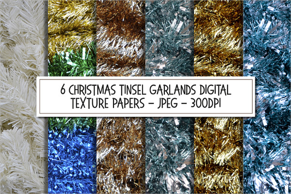 Sparkling Christmas Texture Backgrounds