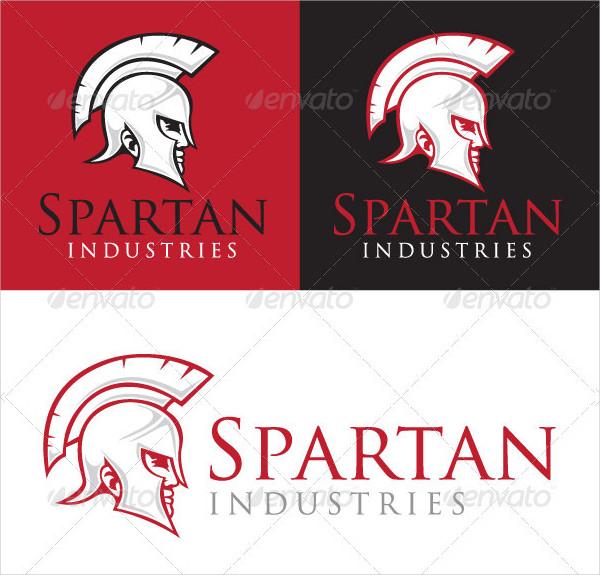 Spartan Industries Logo Design