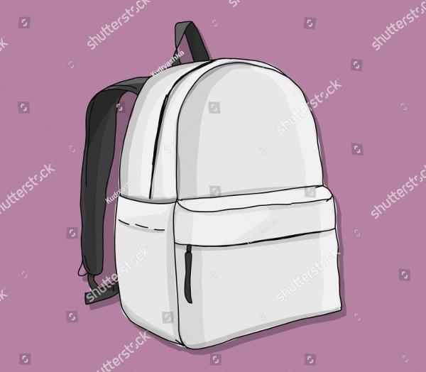 Unique Backpack Mock-Up Design