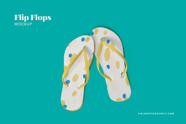 Versatile Flip Flops Mockup