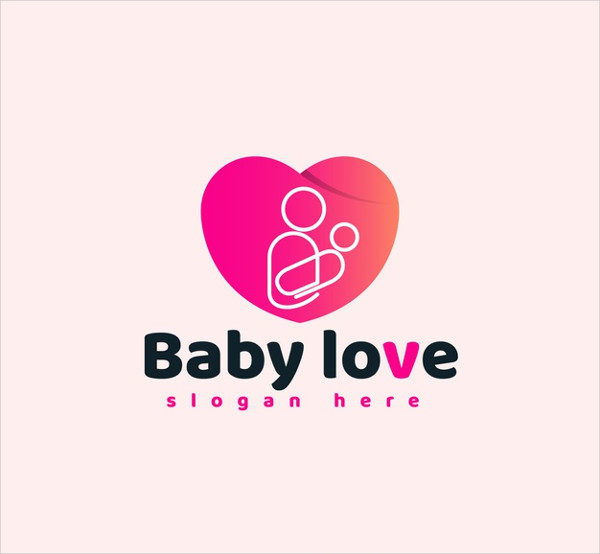 Baby Love Logo Free Download