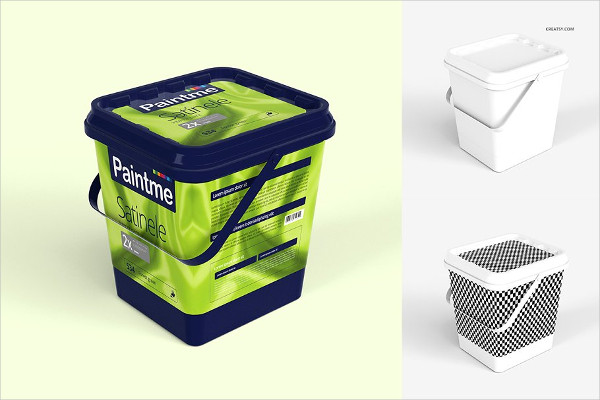 Best Bucket Mockups Set