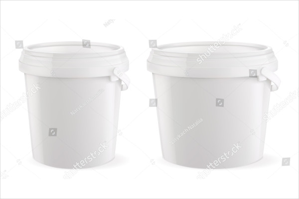 Blank Bucket Mock-Up