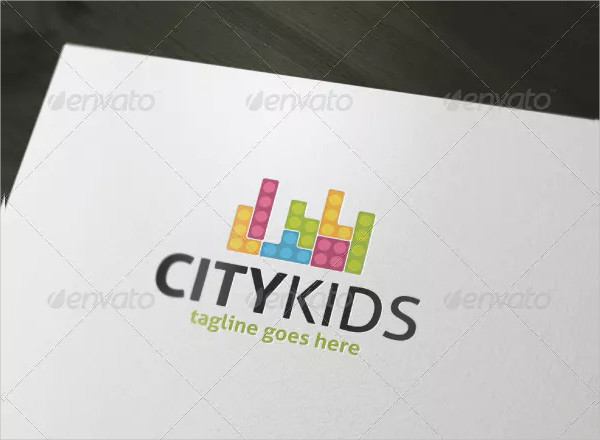 City Kids Logo Design