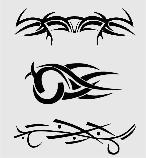 Cool Tribal Tattoo Brush Pack
