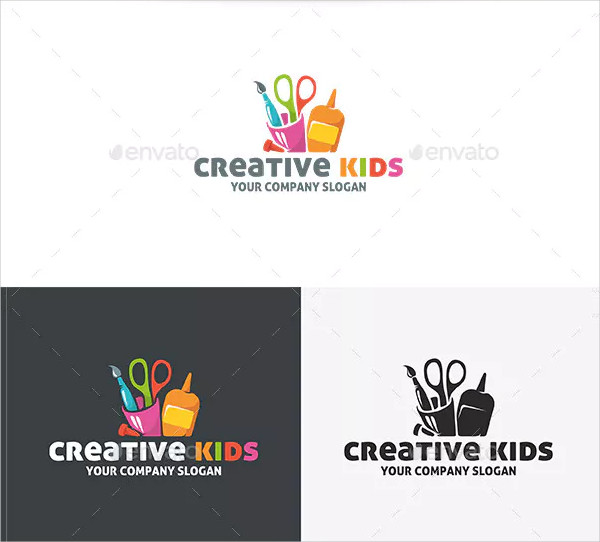 Creative Kids Logo Design