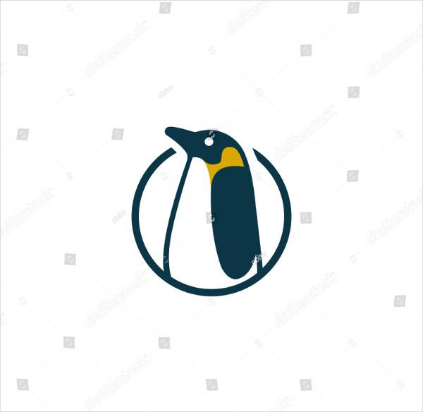 Creative Penguin Vector Logo Design