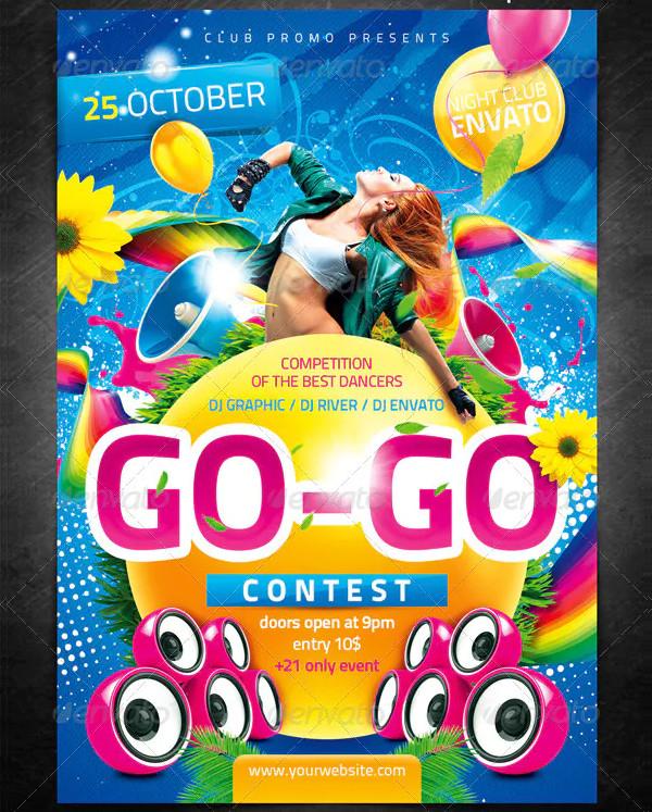 Dance Contest Flyer