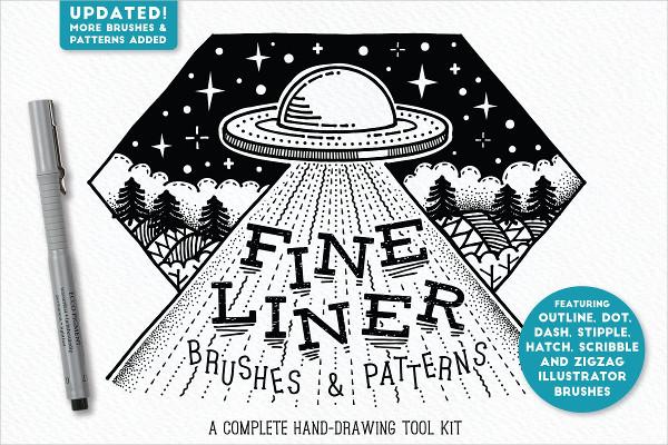 Fine Liner Brushes & Patterns