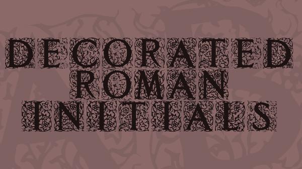 Floral Font Free Download