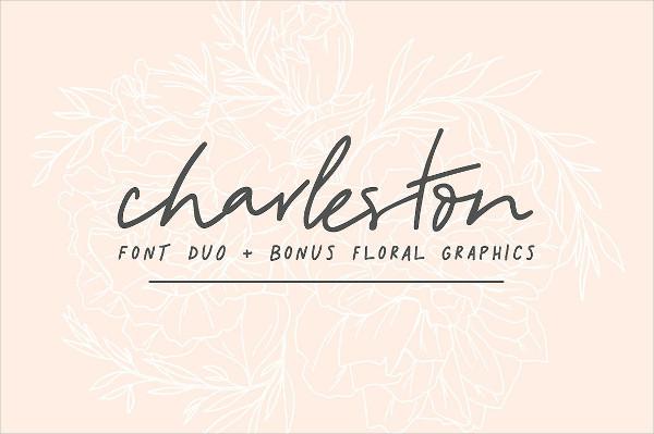 Font Duo & Florals