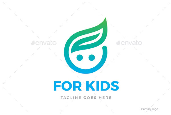 For Kids Logo Design