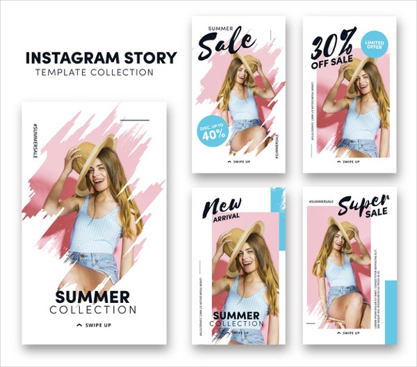 Free Download Instagram Stories Template
