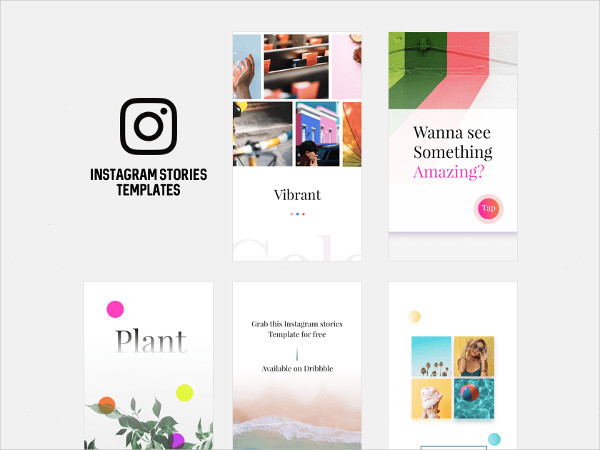 Free Instagram Stories Templates Download
