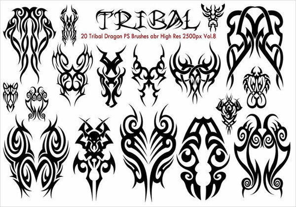 Free Tribal PS Brushes Download