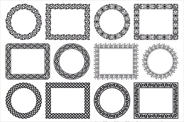 Geometric Tattoo Brush Set