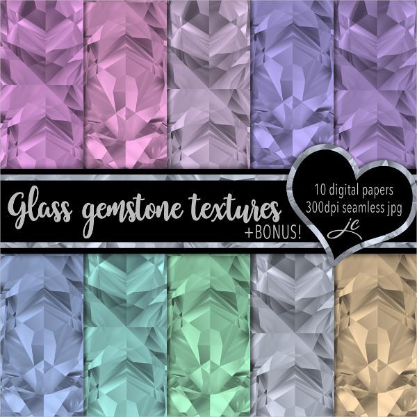 Glass Gemstone Texture Pack
