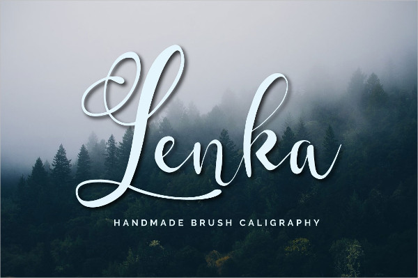 Hand Made Brush Calligraphy Font
