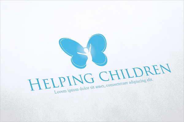 Helping Children Logo