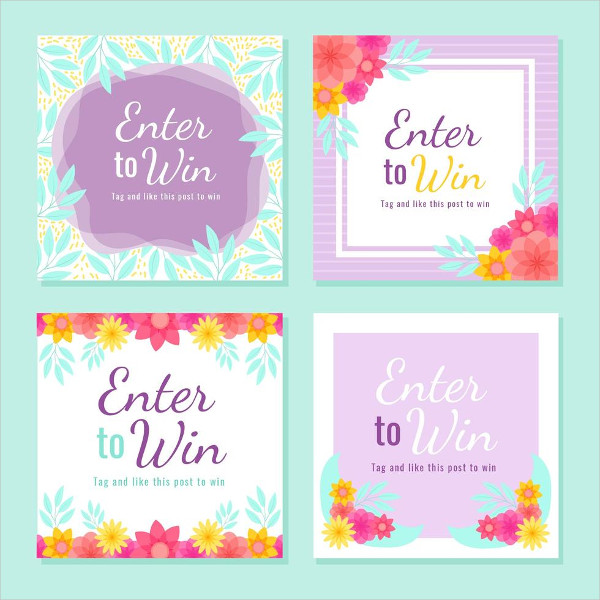 Instagram Contest Template Free Download