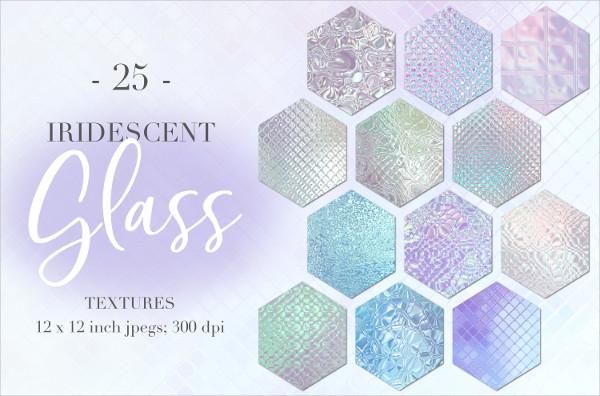 Iridescent Glass Textures