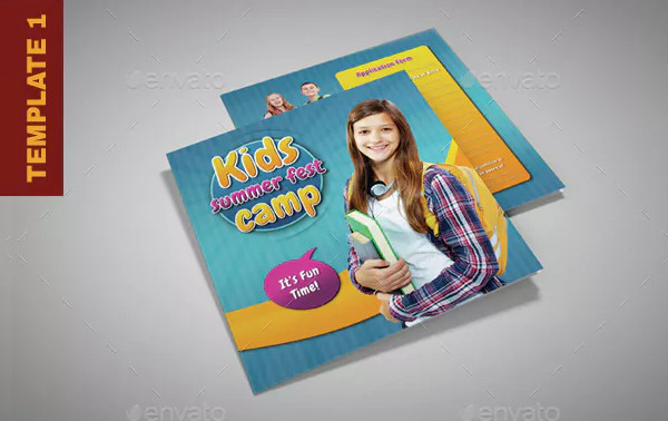 Junior Summer Camp School Brochures Bundle