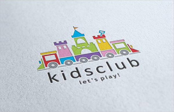 Kids Club Logo Template