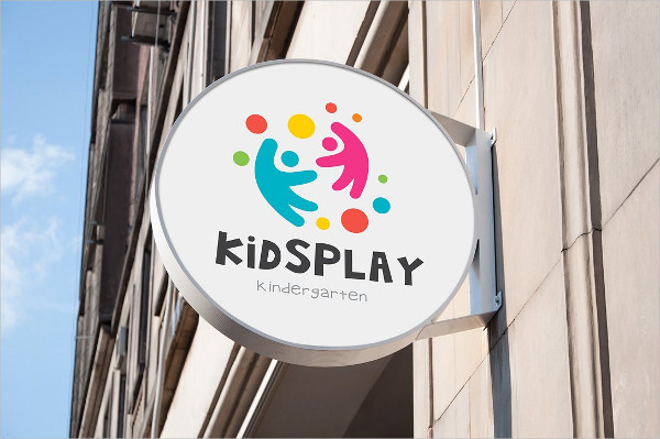 Kids Play Logo Design