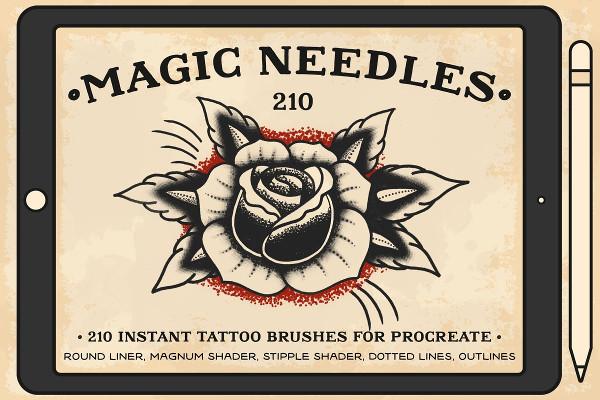Magic Needles Procreate Brushes