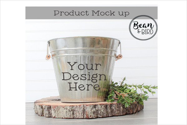 Metal Bucket Mock-Up