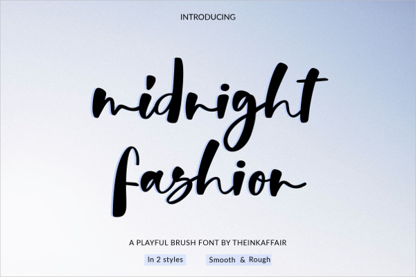 Midnight Fashion Fonts