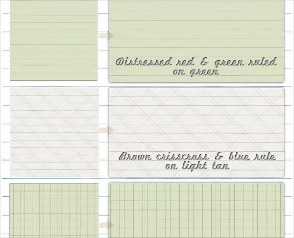Old School Paper Patterns