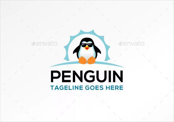 Penguin Logo for Business Use
