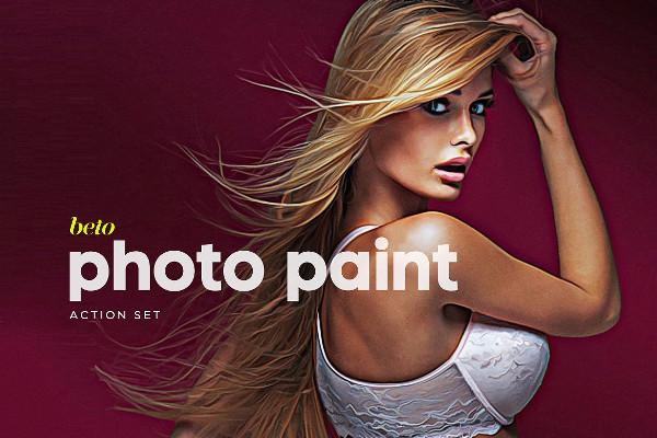 Photo Paint Action Set