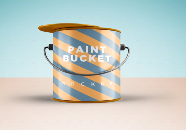 Print Ready Bucket Mock-Up