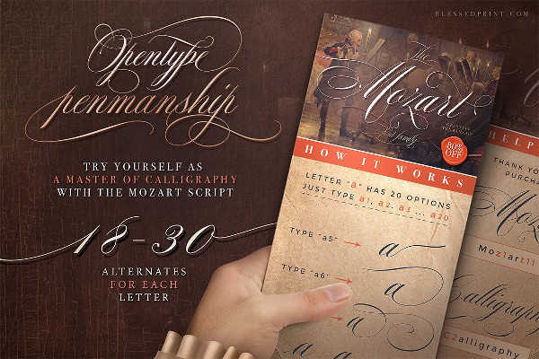 Professional Invitation Fonts