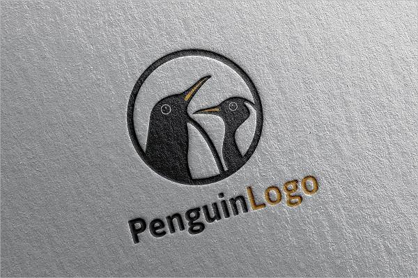 Professional Penguin Logo Template