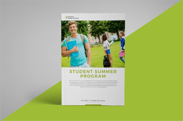 School Program Brochure Template