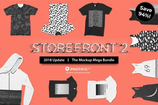 Storefront Apparel Mockups Bundle