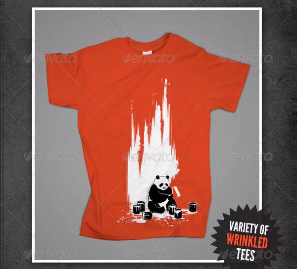 T-Shirt Mock-Ups Apparel Design
