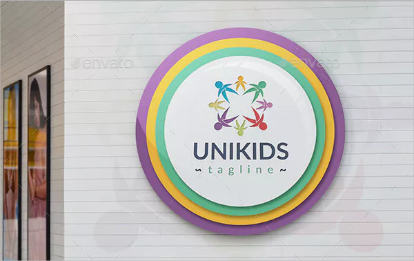 United Kids Logo Template