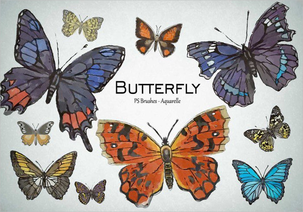20 Butterfly PS Brush Pack