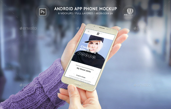 Android Phone App Mock-Ups